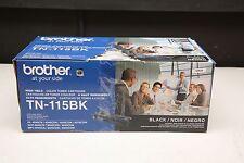 New Brother TN-115BK Black Toner Cartridge