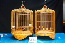 Asian Bamboo Bird Cage KS-2 Pair