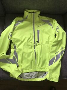 Ladies Endura Luminite Cycling Jacket. Size Xs
