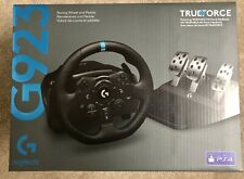 Logitech G923 PS4 /PC Steering Wheel & Brake Set