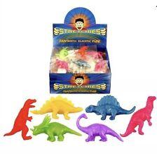 12x elastico Dinosauri Bambini Party Borsa Filler bottino Pinata Giocattoli FAVOURS UK