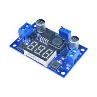 2PCS LM2596 Buck Step-down Power Converter Module 4.0~40 to 1.3-37V Voltmeter