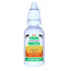 Bee Propolis 30% Natural Tincture Immune Booster Sugar Free 25ml