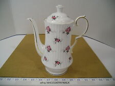 Princess House Hammersley Fine Bone China Floral Tea Pot, Made in England - EUC