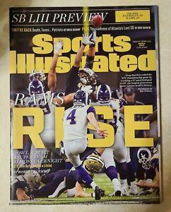 Sports Illustrated January 28, 2019 Greg Zuerlein Los Angeles Rams