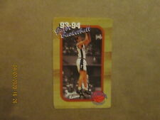 NCAA University Of Florida Vintage 1993-94 Men's Basketball Card Schedule