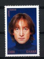 John Lennon Ghana sellos stamps music