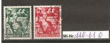Deutsches Reich Mi-Nr.:  660-61 Machtergreifung sauber gestempelter Satz