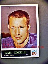 Gail Cogdill 1965 Philadelphia Card #60 Detroit Lions
