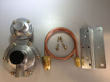 Caravan/Motorhome/RV LPG 2 Stage Regulator with 500mm POL Copper Pipe