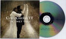 CODY CHESNUTT Til I Met Thee UK 2-trk promo CD One Little Indian radio edit