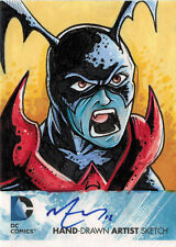 DC Comics New 52 Sketch Card by Mike Vasquez of Bleez
