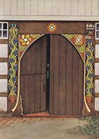 Obernbeck - Löhne - Altes Hoftor - um 1930 - Selten!
