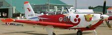 T-7 Japan Air Force Trainer Fuji Airplane Mahogany Kiln Wood Model Small New