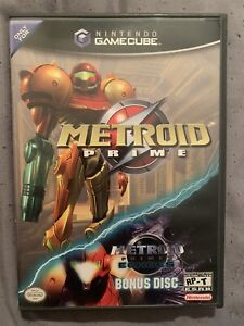 Nintendo Metroid Prime Game w/ Demo Game (Nintendo GameCube, 2004)