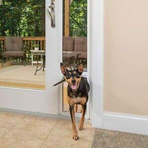 "PetSafe Freedom Aluminum Patio Panel Sliding Glass Pet Door Medium 91 7/16""  96"""