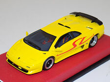 1/43 Looksmart Lamborghini Diablo SV 1995 Giallo Maggio on Blue Leather Base