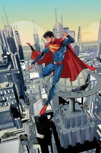 SUPERMAN SON OF KAL-EL #1 1:50 INCENTIVE VIRGIN VARIANT CARD STOCK TIMMS 02