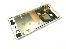 White LCD Display +touch screen+Frame for Sony Xperia M5 Dual E5633 E5643 E5663