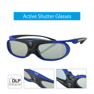 Active Shutter 3D Brille Brille für Optoma Vivitek DLP Link 3D Projektor DE