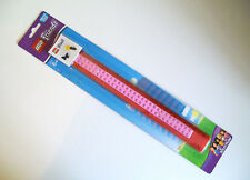 "LEGO FRIENDS 30cm / 12"" RULERS Box of 10 Pink & Red RULERS Great For Party Bags"