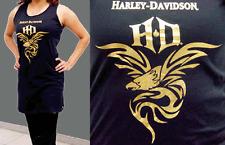 HARLEY DAVIDSON LADIES GOLD FOIL EAGLE PAJAMA SLEEP SHIRT (L/XL) SHIRT