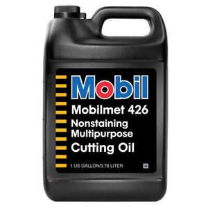 MOBIL 103799 Mobilmet 426, Cutting Oil, 1 gal