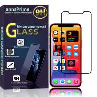 """1 Gehärtetes Glas Film Bildschirmschutz Schwarz Für Apple IPHONE 12 6.1 """" A2403"""