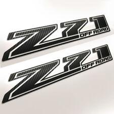 Chevy Z71 off road 2017 2018 Carbon Fiber Decal Chevrolet Silverado 1500 2500 p