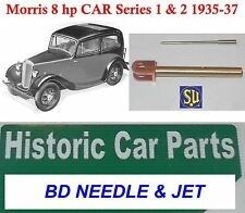 MORRIS 8 HP TIPO UB Serie 1 1935-37 su (CARB) standard Needle & JET per AUC 244