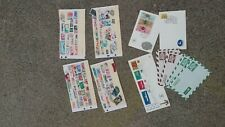 Stamp Collection Lot ~ Isreal ~ Europe ~ China ~ From Estate