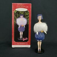 Barbie Gay Parisienne 1999 Hallmark Keepsake Christmas Ornament