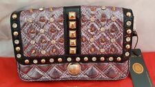 Haiying Snider Pink Crystal, Spikes & Studs Wristlet New with Tag