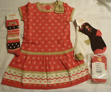 Gymboree Star of the Show Size 4 Socks 4T Sweater Dress 3-4 Tights NWT Outfit
