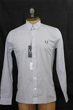 AUTH $184 Fred Perry Men's Tab Collar Stripe Shirt 38/S