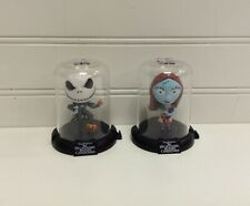 Disney Nightmare Before Christmas Movie Jack & Sally Mini Domez Figurines Set