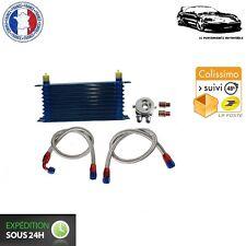 Kit Radiateur d'Huile 10 Rangées avec Durites pour Peugeot 205 GTI