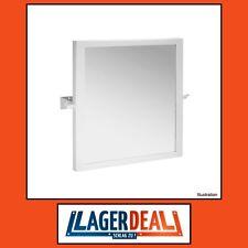 Kippspiegel Edelstahl 600x600mm Bad barrierefrei Zubehör Badezimmer Badartikel