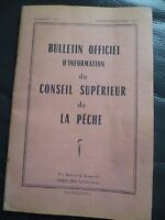 Cuaderno Boletín Oficial De C.Superior La Pesca 1957 N º 27 Impresión