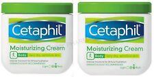 Cetaphil Moisturizing Cream Fragrance Free 16oz ( 2 Tubs )