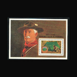 Grenada Grenadines, Sc #953, MNH, 1988, S/S, Boy Scouts Pitching Tent, A350FX-B