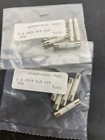 "10 pc lot of  Littelfuse Fuse 1 Amp Slo-Blo Ceramic 250V  ""NOS"""