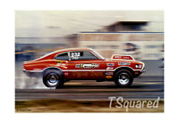 "Dyno Don Pro Stock Jo-Han Model Box Art Poster /Print 18"" x 12"" Free US Shipping"