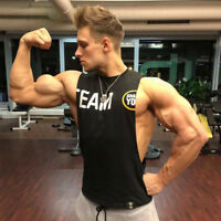 Men's gyms Fitness Bodybuilding Tank Tops, Singlet Vest sleeveless shirts muscle
