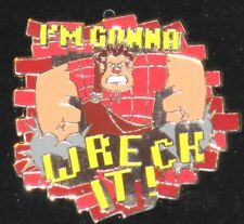 WRECK IT RALPH NEW LIMITED 400 PIN BADGE I'M GONNA WRECK IT! DISNEY VIDEO GAME