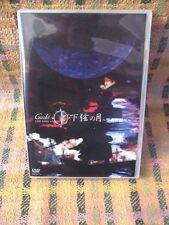 Gackt 2DVD Live Tour 2002 Kagen no Tsuki Seiya no Shirabe JAPAN Official DVD