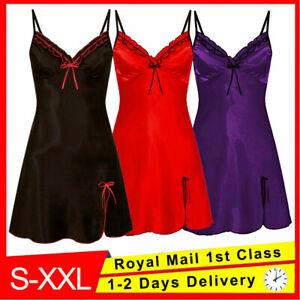 Women Ladies Sexy Valentine Lingerie Lace Babydoll Underwear Nightwear Sleepwear
