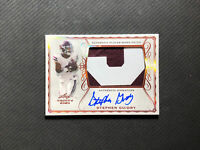 2020 LEAF TRINITY STEPHEN GUIDRY AUTHENTIC SIGNATURE AUTO PATCH #PA-SG1