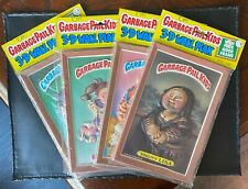 Lot of (4) 1986 Topps Garbage Pail Kids Unopened 3-D Wall Plaks