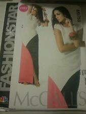 M6755 McCall's Women's NBC Fashion Star Easy Sewing Patterns Sizes 4, 6, 8,10 12